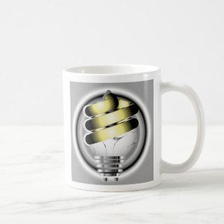 Light Bulb, Think Green Coffee Mug