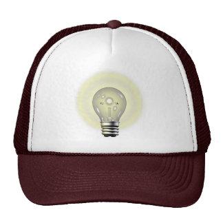 Light Bulb Thinking Cap Trucker Hat