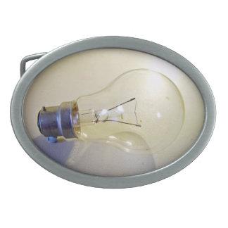 Light bulb with a bayonet fitting belt buckles