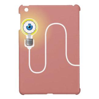 Light Bulb with an Eyeball Vector iPad Mini Covers