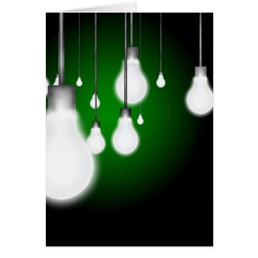 Light Bulbs Card