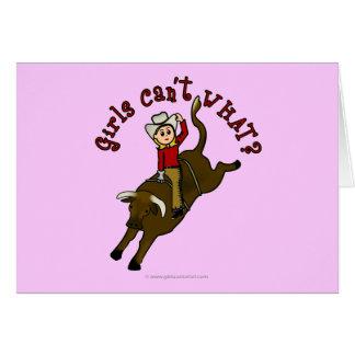 Light Bull Rider Cards