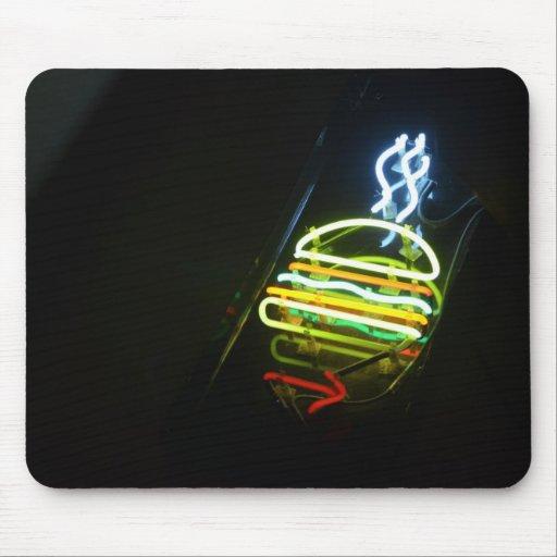 light burger mouse pad
