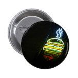 light burger pinback button