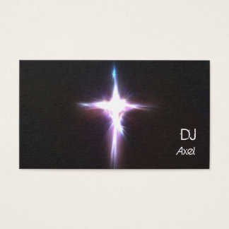 Light Burt DJ Business Card