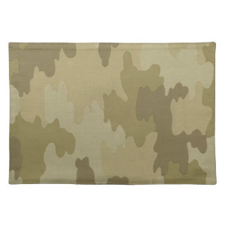 Light Camouflage Placemat