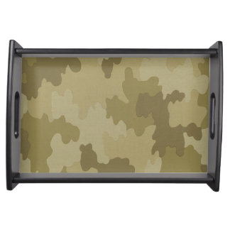 Light Camouflage Serving Tray