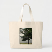Light Candle Large Tote Bag