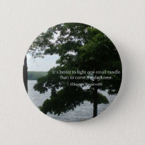 Light Candle Pinback Button