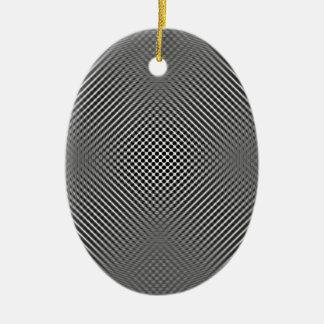 Light carbon fiber skin ceramic ornament