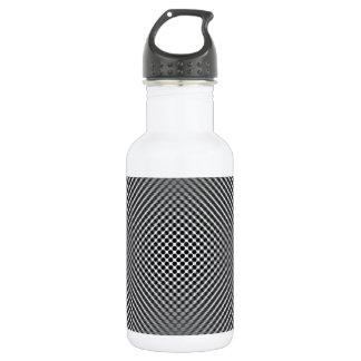 Light carbon fiber skin 18oz water bottle