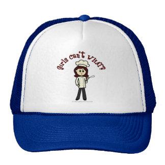 Light Chef Girl Trucker Hat
