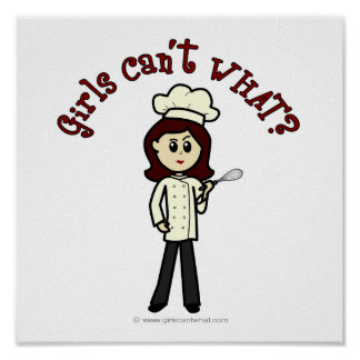 Light Chef Girl Poster