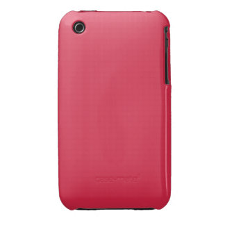 LIGHT CHERRY RED (a solid fruity color) ~~ iPhone 3 Case-Mate Case