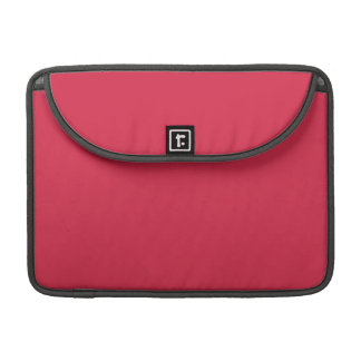LIGHT CHERRY RED (a solid fruity color) ~~ MacBook Pro Sleeve