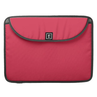 LIGHT CHERRY RED (a solid fruity color) ~~ Sleeve For MacBooks
