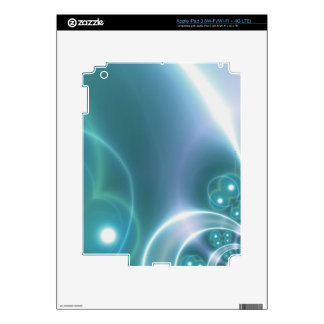 Light Circles iPad 3 Skins