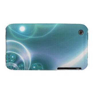Light Circles iPhone 3 Case