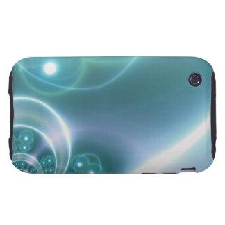 Light Circles iPhone 3 Tough Cover