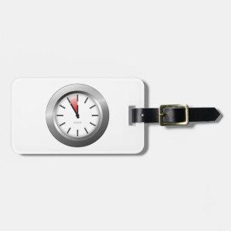 Light Clock Luggage Tag