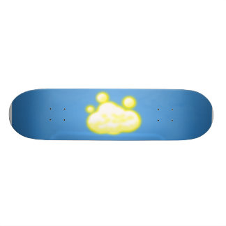 Light cloud skate decks
