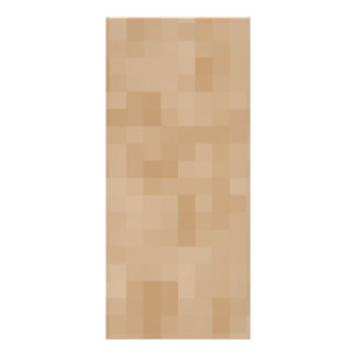 Light Coffee Brown Color Abstract Pattern. Customized Rack Card