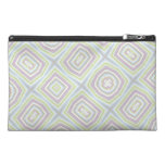 Light colored abstract pattern travel accessories bags