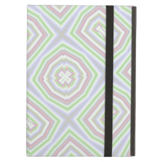 Light colored abstract pattern iPad cover