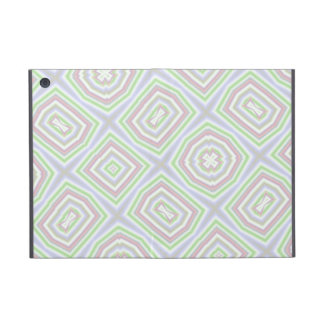 Light colored abstract pattern covers for iPad mini