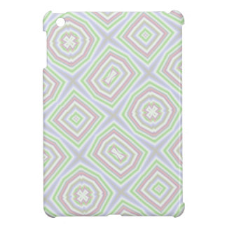 Light colored abstract pattern iPad mini covers