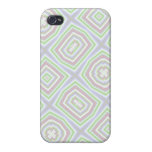 Light colored abstract pattern iPhone 4 cover