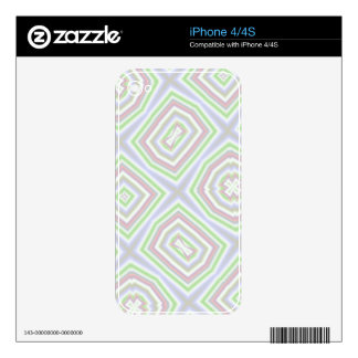 Light colored abstract pattern skin for the iPhone 4