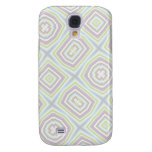 Light colored abstract pern galaxy s4 cover