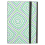 Light Colored Blue green Pattern iPad Cases
