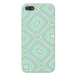 Light Colored Blue green Pattern iPhone 5 Covers