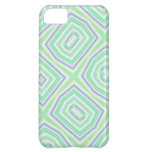 Light Colored Blue green Pattern iPhone 5C Covers