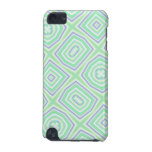 Light Colored Blue green Pern iPod Touch (5th Generation) Case