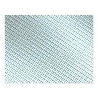 "Light Colored Carbon Fiber Textured 8.5"" X 11"" Flyer"