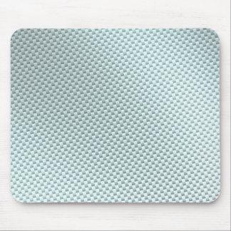 Light Colored Carbon Fiber Textured Mouse Pad