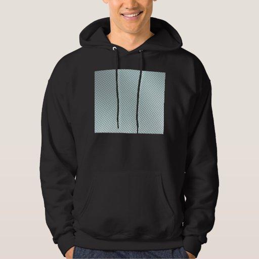 Light Colored Carbon Fiber Textured Sweatshirt