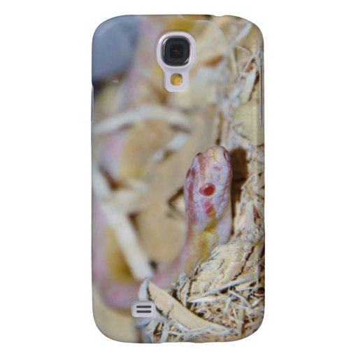 Light Colored Corn Snake Galaxy S4 Covers