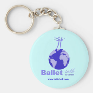 Light Colored Keychain or Bag Tag