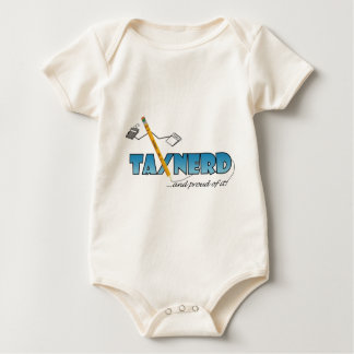 light-colored TaxNerd products Baby Bodysuit