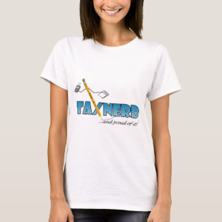 light-colored TaxNerd products T-Shirt