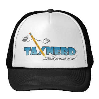 light-colored TaxNerd products Trucker Hat