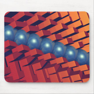 Light, Colors And Shapes Mouse Pad