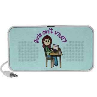 Light Computer Girl Speaker
