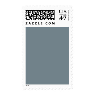 Light Confederate Blue Grey Trend Color Gray Blank Postage
