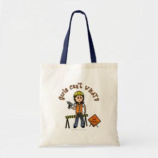 Light Construction Girl Canvas Bags