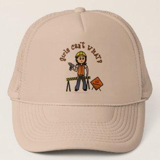 Light Construction Girl Trucker Hat